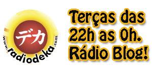 Hoje tem programa Rádioblog comigo! Vai lá ouvir!