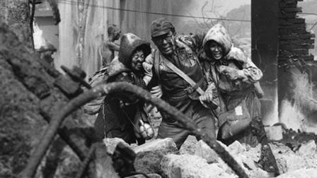 Foto do filme japonês Kuroi Ame (Black Rain) sobre a bomba atômica