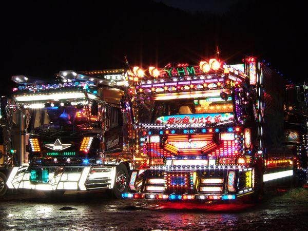 DEKOTORA - Os caminhões japoneses decorados!