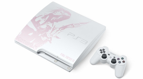 PS3 de 240 GB Lightning Edition com Final Fantasy XIII