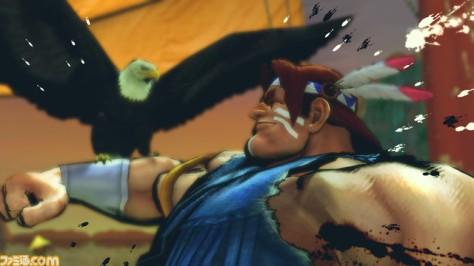 Os movimentos de T-Hawk foram bem adaptados ao 3D