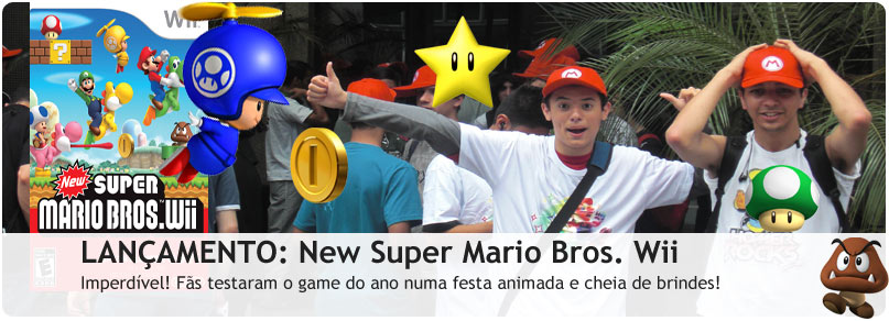 Evento de New Super Mario Bros. Wii