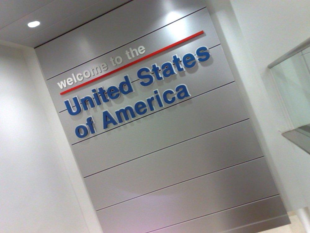 Bem vindo aos Estados Unidos da América