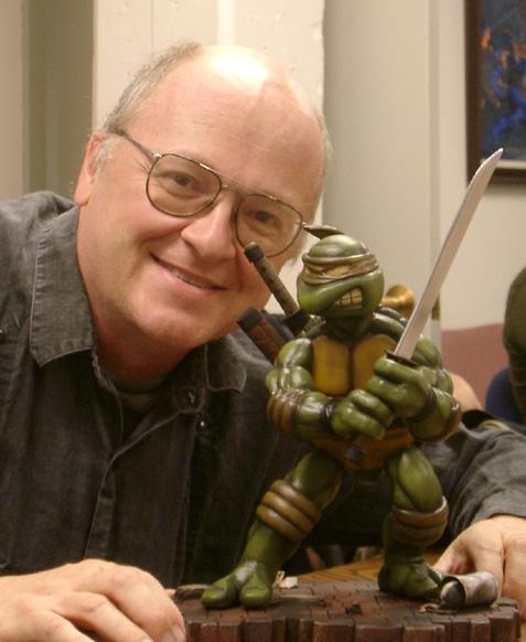 Peter Laird e Leonardo!